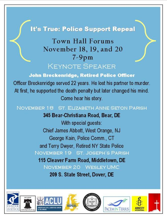 DE Repeal Town Halls November 2014