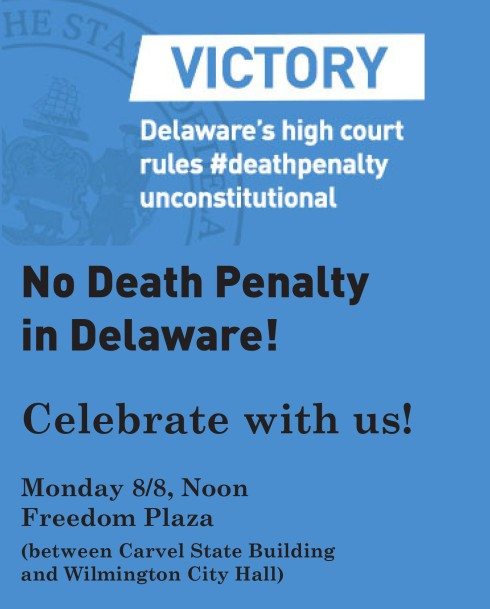 death penalty rally 2016